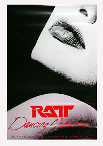 RATT Poster Dancing Undercover 1986 New Album Promo 24 x 36
