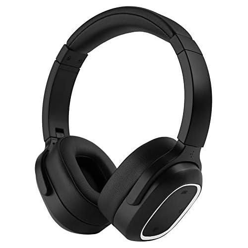 chollos oferta descuentos barato InaRock ANC Auriculares inalámbricos con cancelación de ruido Bluetooth con sonido de alta claridad graves potentes 50 horas de reproducción para viajes trabajo TV PC teléfono móvil