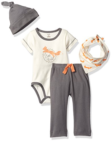 Touched by Nature Baby Organic Layette Set 4-Piece