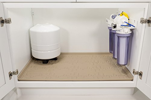 Xtreme Mats Under Sink Kitchen Cabinet Mat 33 5 8 X 21 7