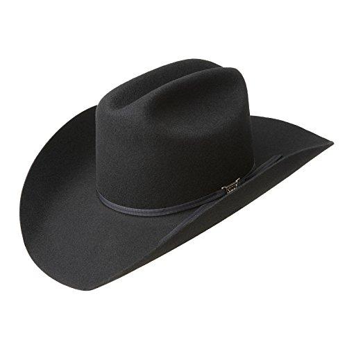 Eddy Bros. Men Bandit Western Hat Black 7 3/8