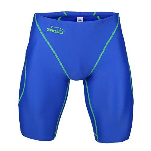 ZAOSU Wettkampf-Schwimmhose Z-Blue - Jammer für Jungen und Herren, Größe:152