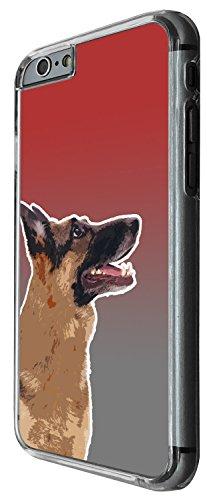 1506 - Cool Fun Trendy Cute dog german shephard pets collage animals kwaai Design iphone 5C Coque Fashion Trend Case Coque Protection Cover plastique et métal - Clear
