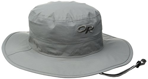 Outdoor Research Helios Rain Hat, Pewter, Large