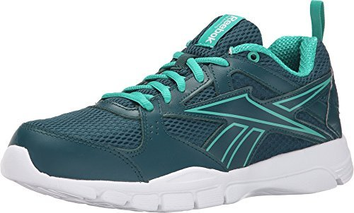 Reebok Women's Trainfusion 5.0 L MT Deep Teal/Glass Green/White Sneaker 9.5 B (M)