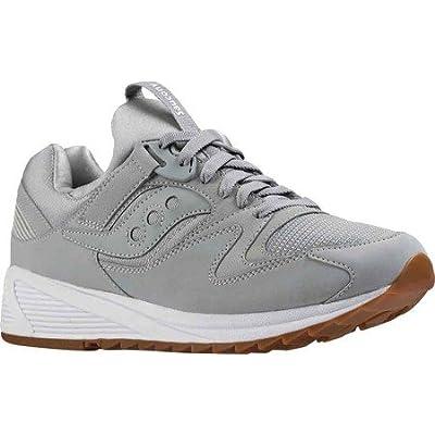 Saucony Grid 8500 hommes, cuir lisse, sneaker low