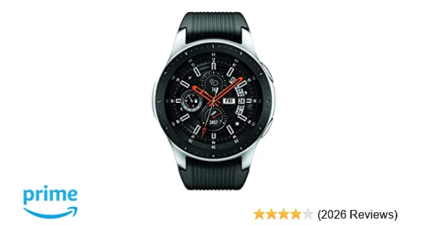 Samsung Galaxy Smartwatch (46mm) Silver (Bluetooth), SM-R800NZSAXAR – US  Version with Warranty
