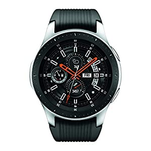 Samsung Galaxy Watch smartwatch (46mm, GPS, Bluetooth, Wifi) – Silver/Black (US Version with Warranty)