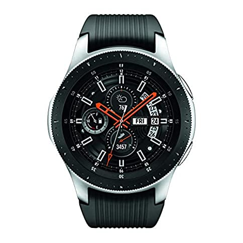 Samsung Galaxy Watch (46mm) Silver (Bluetooth), SM-R800NZSAXAR – US Version with Warranty - 41CIyIkHRLL - Samsung Galaxy Watch (46mm) Silver (Bluetooth), SM-R800NZSAXAR – US Version with Warranty