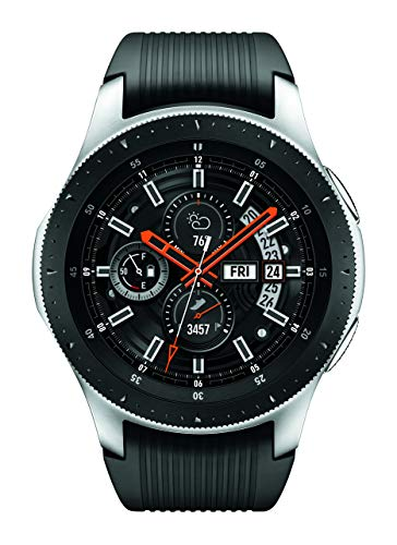 Samsung Galaxy Watch Smartwatch (46mm, GPS, Bluetooth, Wifi) - Silver/Black (US Version with Warranty)