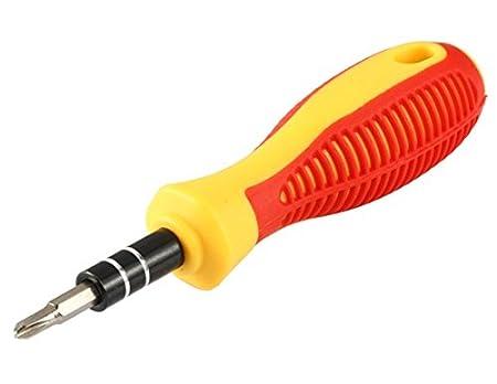 30 en 1 destornillador multifuncional y codo pinzas Set (rojo ...