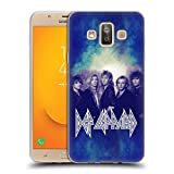 Official Def Leppard Hysteria Classic Photos Soft Gel Case for Samsung Galaxy J7 Duo (2018)