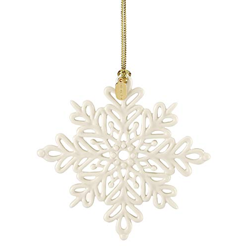 Lenox 2019 Snow Fantasies Snowflake Ornament