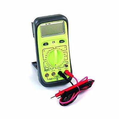 TPI 133 Manual-Ranging, Average-Sensing Digital Multimeter with Protective Boot, 750VAC, 1000VDC, 10 Amp, 20 Megaohms
