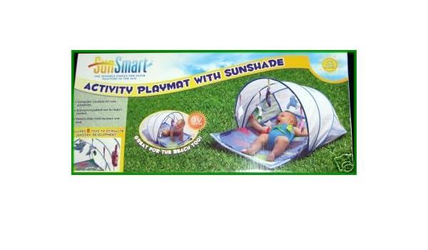 Amazon.com  SunSmart Activity Baby Playmat Sunshade Canopy  Swimming Equipment  Sports u0026 Outdoors  sc 1 st  Amazon.com & Amazon.com : SunSmart Activity Baby Playmat Sunshade Canopy ...