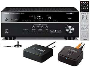 yamaha rx v675 7 2 channel network av receiver. Black Bedroom Furniture Sets. Home Design Ideas