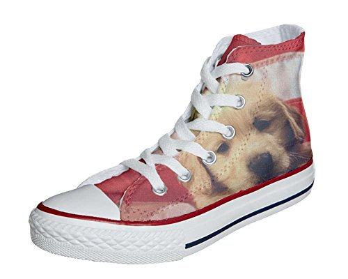 Converse Customized Adulte - chaussures coutume (produit artisanal) Sweet