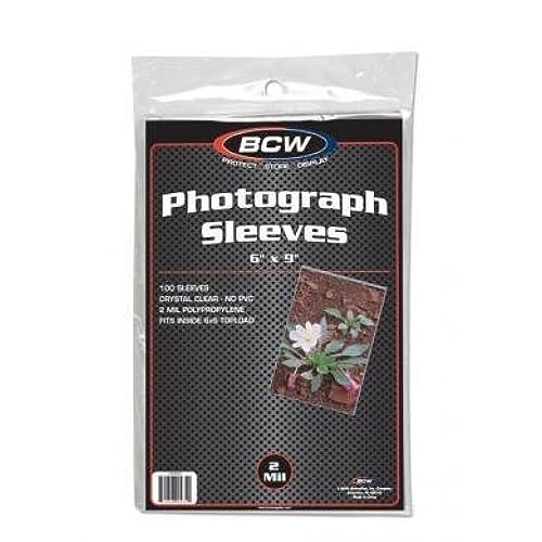 Cheap BCW 1-6X9SLV Bcw 6X9 Photo Sleeves for cheap