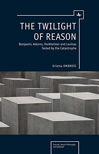 The Twilight of Reason: Benjamin, Adorno, Horkheimer and Levinas Tested by the Catastrophe (Emunot: Jewish Philosophy and Kabbalah)