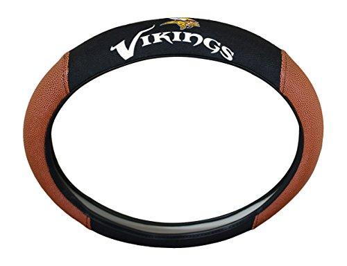 NFL Minnesota Vikings Rubber Steering Wheel Cover, 15
