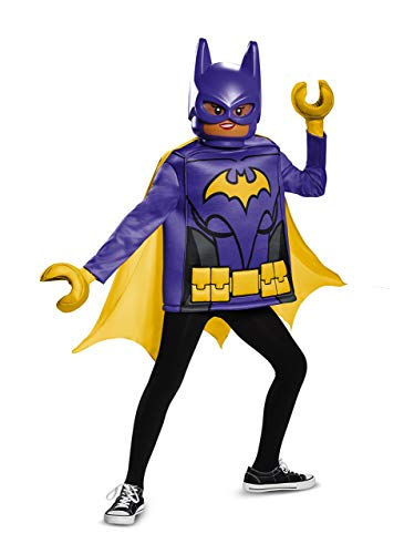 Disguise Batgirl Lego Movie Classic Costume, Black, Medium (7-8) ()