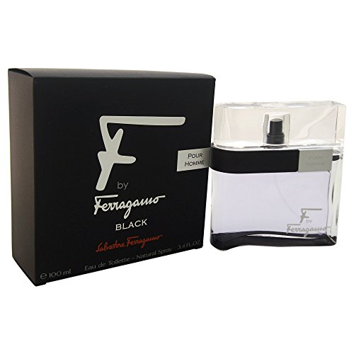 F Black by Salvatore Ferragamo 3.4 oz EDT Spray for Men - pack of 1