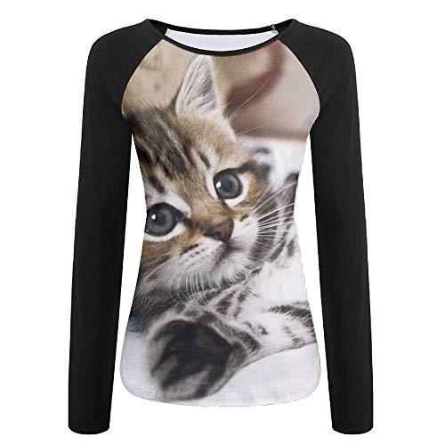 - Tqx5ee Kitten Lying Womens UPF 50+ Sun Protection Long Sleeve Outdoor Performance T-Shirt Recreation Shirts for Girl