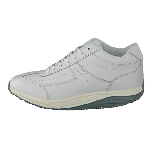 zapatos Efecto Best Wei abroll real piel con de Qualitex Medical Mujer HSM Blanco de wRxyXfqSfP