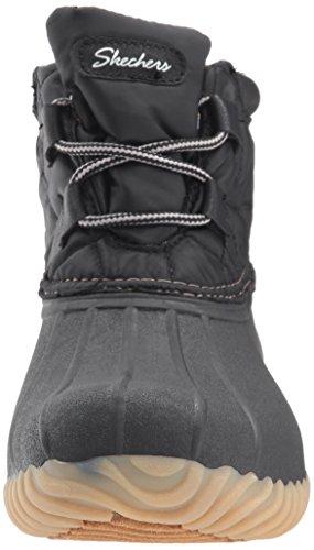 Hampshire de negras invierno Skechers para Botas mujer XOwTUx66