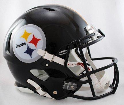 NFL Pittsburgh Steelers Speed Authentic Football Helmet