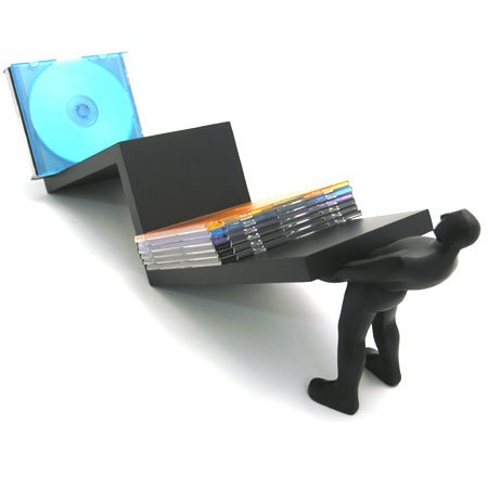 Wrapables Macho Man CD/DVD Holder