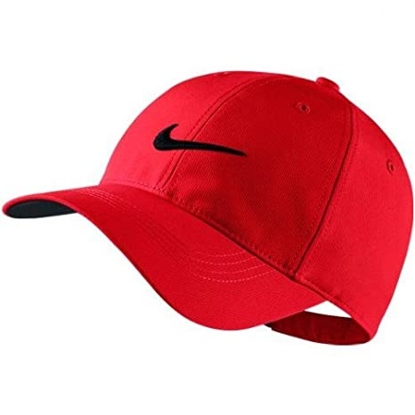 840e9170975 Amazon.com   NIKE Mens Golf Legacy91 Tech Adjustable Hat (University  Red   Anthracite  Black)   Sports   Outdoors