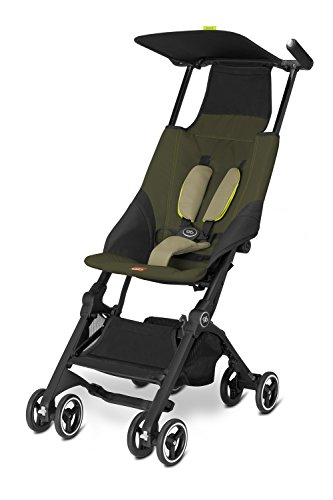 gb-pockit-stroller-lizard-khaki-95-pounds