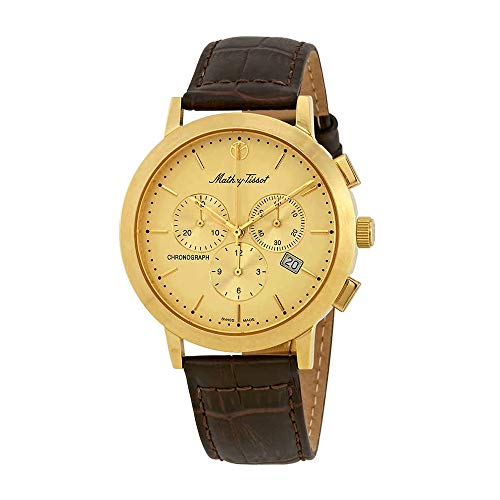 Mathey-Tissot Sport Classic Chronograph Gold Dial Mens Watch H9315CHPLDI