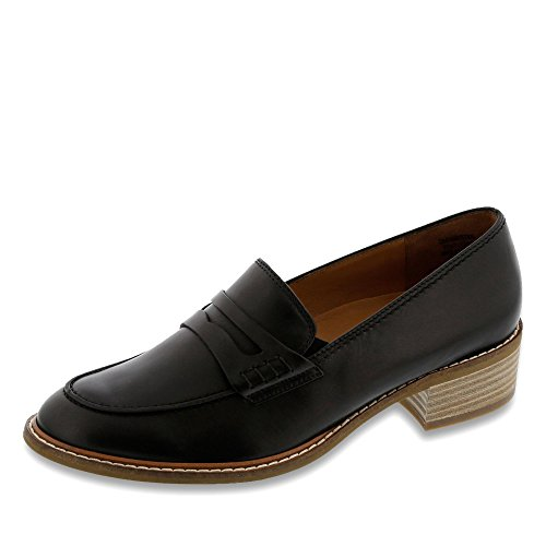 Paul Green Women's 2148 009 Loafer Flats Black DphCC