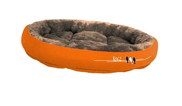 Rogz Snug Podz Birds On a Wire, Pequeño, 32 x 40 cm, Naranja: Amazon.es: Productos para mascotas