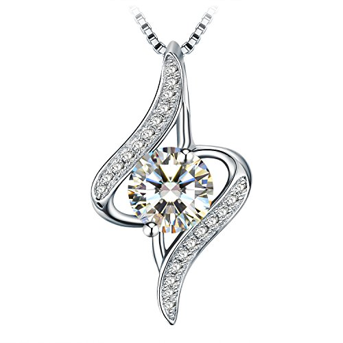 Necklace, Christmas Gift with Exquisite Package 925 Sterling Silver