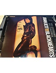"""JOAN JETT signed""""Up Your Alley"""" album flat""""Rock & Roll Hall of Fame"""""""