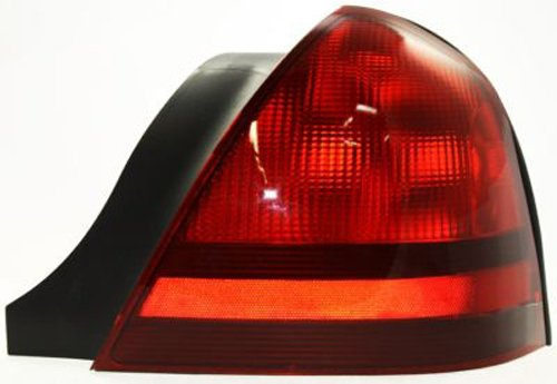Mercury Grand Marquis Replacement Tail Light Unit - Passenger Side (Side Passengers Marquis Grand Tail)