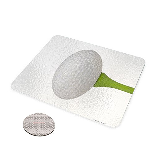 Golf Ball Tee - Space Case by New Vibe Glass Cheese Cutting Board