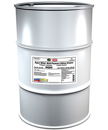 Sta-Lube Super White  Multi-Purpose Lithium Grease, 400 Lbs by CRC