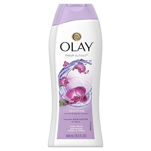 - Olay Fresh Outlast Soothing Orchid & Black Currant Body Wash 13.5 oz, Packaging May Vary