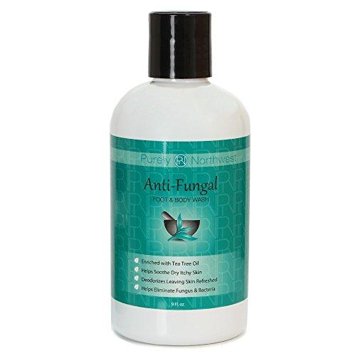 Противогрибковые Мыло с маслом чайного дерева, помогает лечить спортсменов Foot, стригущий лишай, грибок ногтей и зуд 9oz