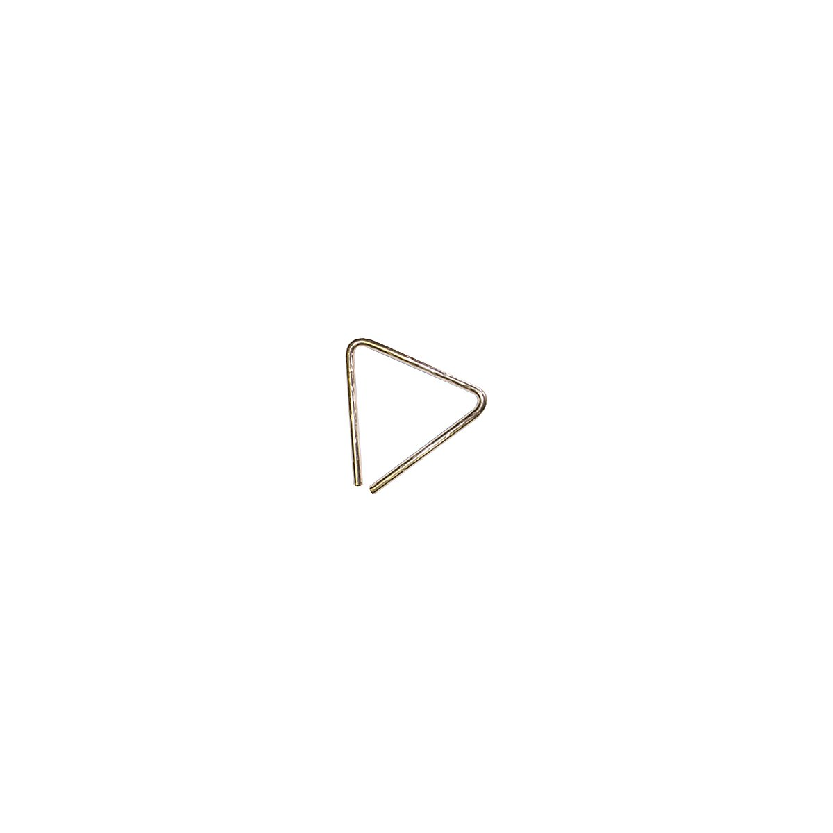 Sabian Triangles 61135-5B8H 5-Inch Hand Hammered B8 Bronze Triangle