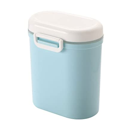 Dispensadores de cereal ZISY Formula Milk Powder, Contenedor de leche en polvo sin BPA Contenedores