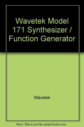 (Wavetek Model 171 Synthesizer / Function Generator)