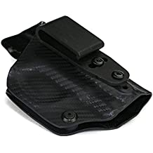 FoxX Holsters Deluxe Trapp Kydex IWB Holster - Kimber 1911 Ultra Carry II, Ultra TLE II Our Smallest Inside Waistband Holster Adjustable Cant & Retention, Conceal Carry