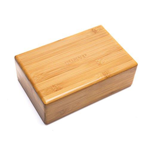 SUNVP Bamboo Yoga Block