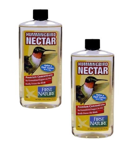 First Nature 2 Ea 16 Oz Clear Hummingbird Nectar Concentrate 3052 by First Nature