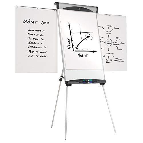 (Quartet EU500E Euro Magnetic Presentation Easel, 27 x 39, White)